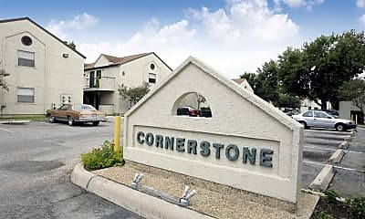 Community Signage, Cornerstone, 1