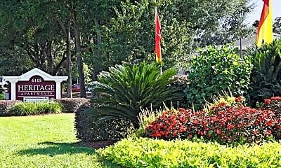 Community Signage, Heritage Apartments, 0