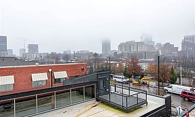 Patio / Deck, 525 S West St 305, 2
