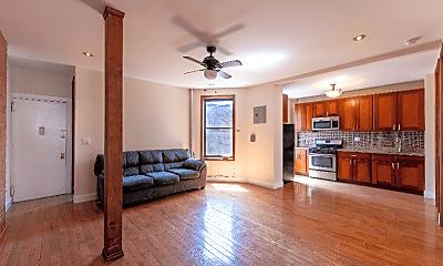 Living Room, 559 W 183rd St, 1