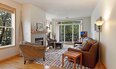 Living Room, 301 Oak Grove St 211, 1