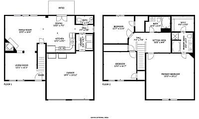 Chivalry Floor Plan.jpg, 1586 Chivalry Lane, 1