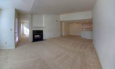 Living Room, The Crest at Berkeley Lake Apartment Homes, 1