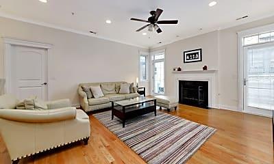 Living Room, 1453 W Irving Park Rd 304, 1