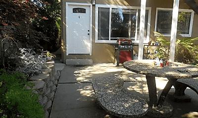 Patio / Deck, 1161 Woodrow St, 1