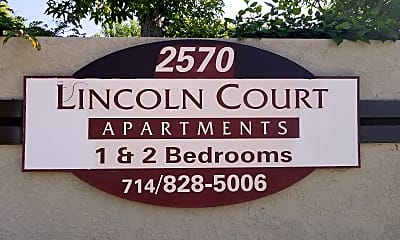 Lincoln Court Apartments, 1