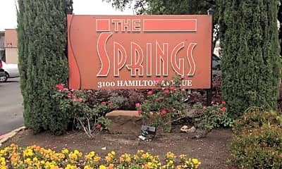 Community Signage, The Springs, 1