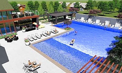 Pool, Village at the Gateway, 2