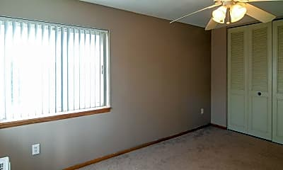Bedroom, Mankato Tower Apartments, 2
