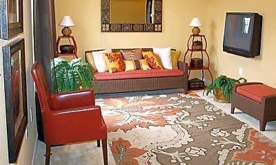 Living Room, The Villas of Oakwood, 1