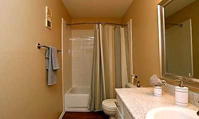 Bathroom, Adelaide Apartments, 2