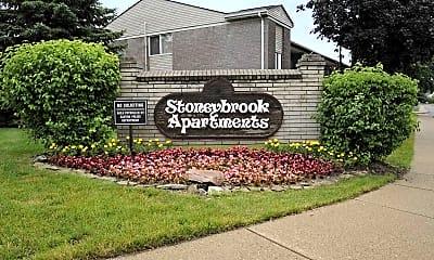 Community Signage, Stoneybrooke Apartments, 2
