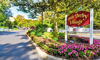 Community Signage, Olde Derby Village, 2