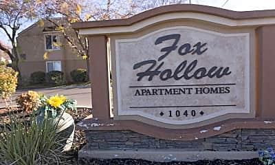 Community Signage, Fox Hollow, 2