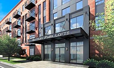 Building, Battery Park Lofts, 0