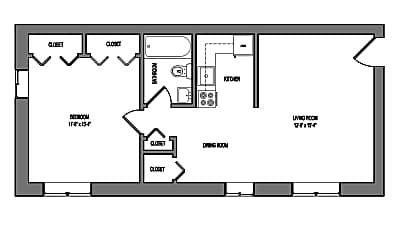 Bedroom, 8016 Jackson St, 2