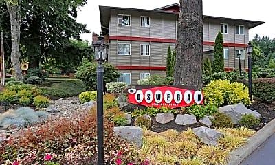 Community Signage, The Oswegan Apartments, 2