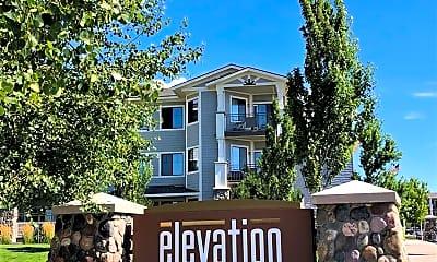 Community Signage, Elevation Apartments, 0