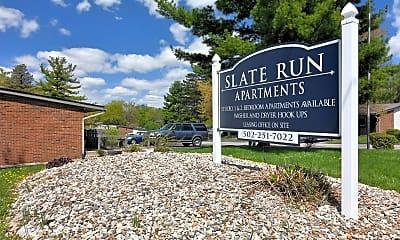 Community Signage, 100 Slate Run, 1