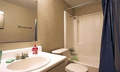 Bathroom, North Village, 2