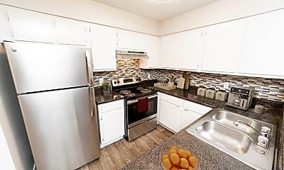 Kitchen, Sutter Ranch, 1