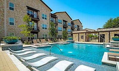 Pool, Mercer Crossing, 1