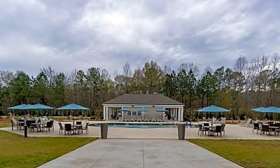Pool, Station at River Crossing, 1