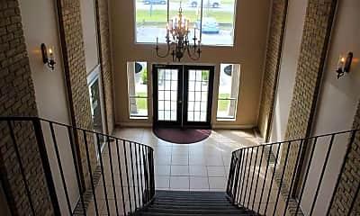Foyer, Entryway, Chateau Bayou Apartments, 1