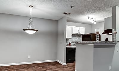 Dining Room, Gregory Lane Apartments, 1