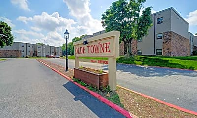Community Signage, Olde Towne Apartments, 2