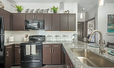 Kitchen, Cherry Street Apartments at Northgate, 2