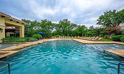 Pool, Pecan Springs Apartments, 2