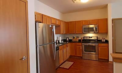 Kitchen, Clearwater Apartments, 1