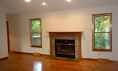 Living Room, 3906 Cameron, 1