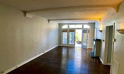 Living Room, 7733 Hampton Ave, 1