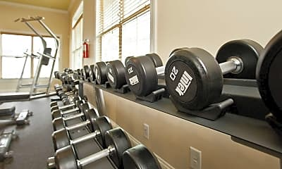 Fitness Weight Room, The Gardens At Anthony House, 2