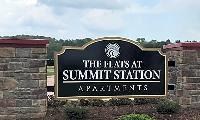 Community Signage, Flats at Summit Station, 2