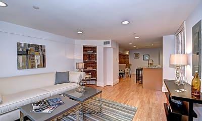 Living Room, 1929 Calvert St NW, 0