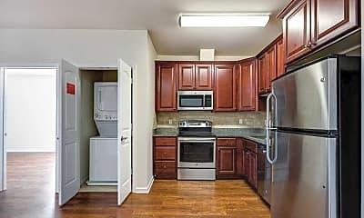 Kitchen, 5609 Jefferson Street Apartments, 1