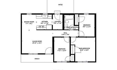 Building, 2253 Blue Hampton Ln, 2
