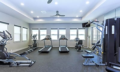Fitness Weight Room, Vantage at Germantown, 2
