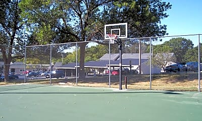 Basketball Court, Haymeadow Apartments, 0