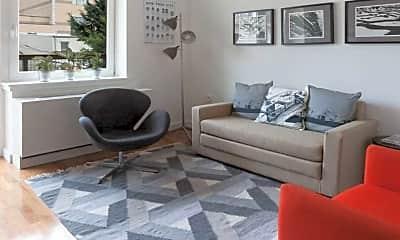 Living Room, 22 Caton, 1