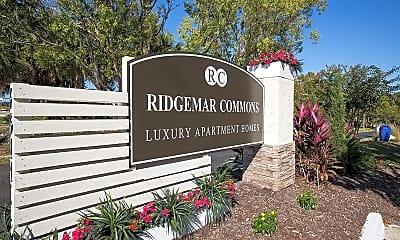 Community Signage, Ridgemar Commons, 2
