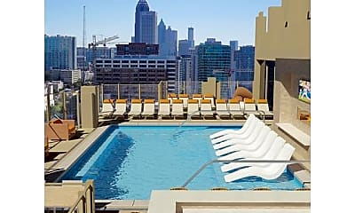 Pool, 1163 Peachtree St NW Unit #1, 2