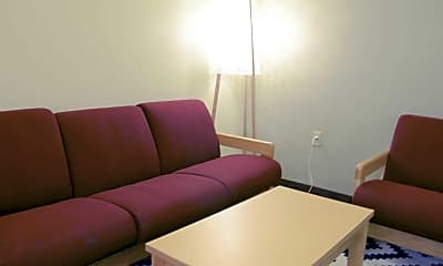Living Room, Standard Life Pittsburgh Apartments, 1
