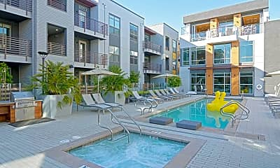 Pool, Elan Menlo Park Luxury Apartments, 0