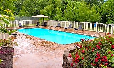 Pool, Silvertree Apartments, 0