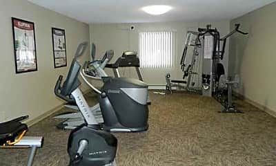Fitness Weight Room, Southwood, 2