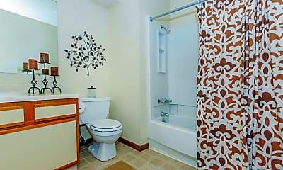 Bathroom, Deerfield Apartments, 2